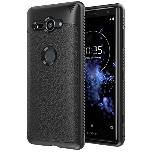 Sony Xperia XZ2 Compact Case, MoKo Slim Lightweight Flexible TPU Gel Bumper Cover Protective Shockproof Anti-scratch Back Panel for Sony Xperia XZ2 Compact 5 Inch 2018 - Black