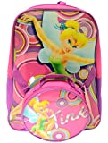Disney FAIRIES Tinkerbell BACKPACK WITH LUNCH box