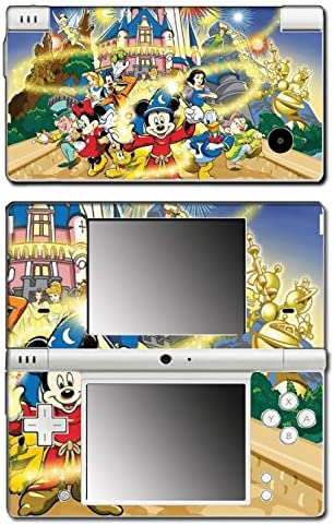 Mickey Mouse Minnie Snow White Donald Duck Video Game Vinyl Decal Skin Sticker Cover for Nintendo DSi System
