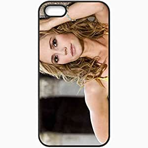 Personalized iPhone 5 5S Cell phone Case/Cover Skin Ashley Jones Black