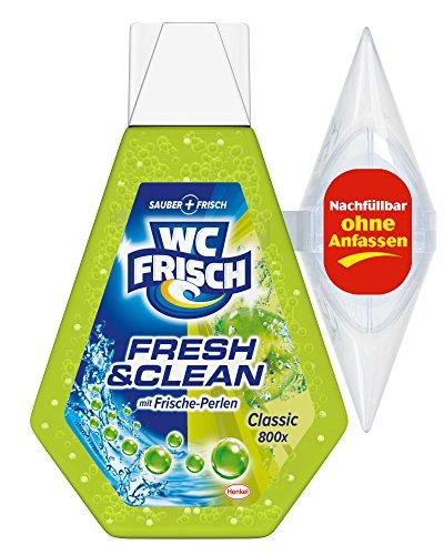 WC Frisch Fresh & Clean Duftspüler Gel Classic, WC Frische, 2er Pack (2 x 1 Stück)
