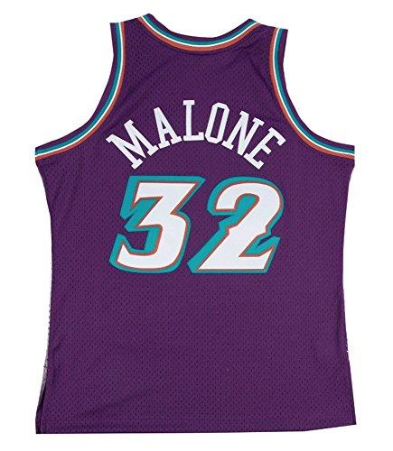 Mitchell & Ness Utah Jazz Karl Malone Swingman Jersey (Purple, L)