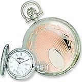 Swingtime Rose Gold & Chrome Plated Pocket Watch