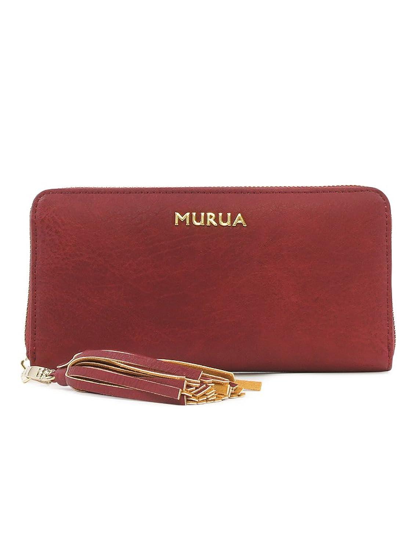 (ムルーア) MURUA 長財布 MR-W294 B07CXCKGSC  ワイン
