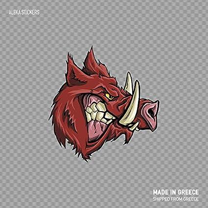 Amazon com: Boyce22Par Razorback Head Wild Pig Angry