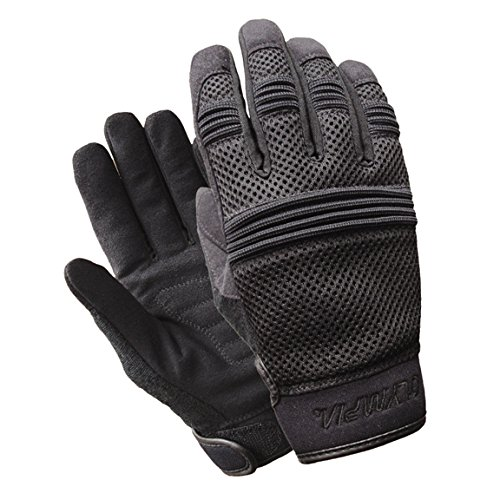 Olympia 765 Air Force Gel Ladies Motorcycle Gloves (Black, Medium)