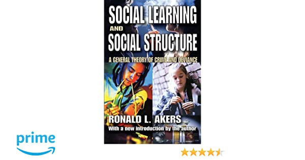 akers social learning theory
