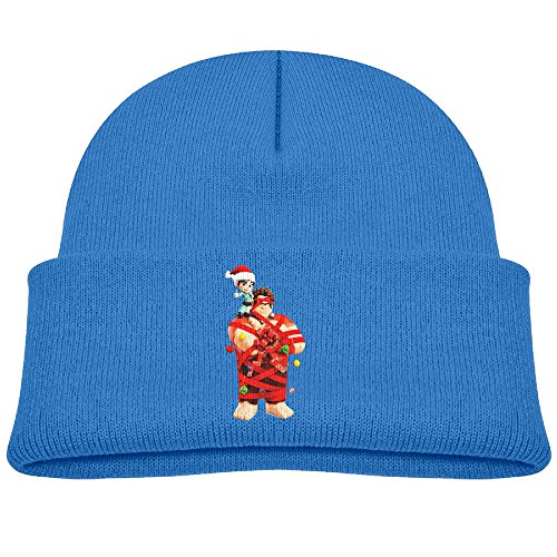 [Satain Funny Wreck-It Ralph Christmas Beanies For Boys And Girls RoyalBlue] (Wreck It Ralph Costume For Girls)