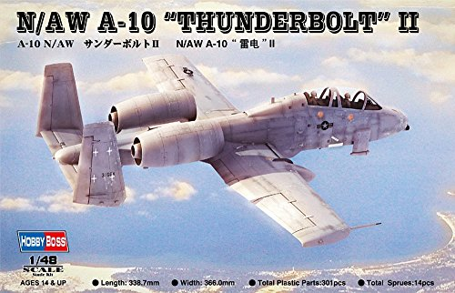 Hobby Boss N/AW A-10 Thunderbolt II Airplane Model Building Kit