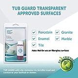 Tub Guard Transparent Treatment Anti Slip Shower