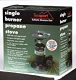 Texsport Single Burner Propane Stove Reviewed