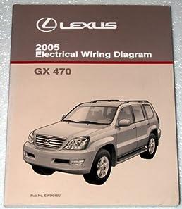 2005 lexus gx470 electrical wiring diagram uzj120 series toyota rh amazon com lexus gx470 audio wiring diagram lexus gx470 radio wiring diagram