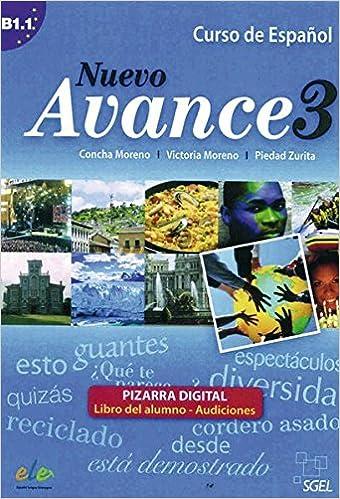 Nuevo Avance 03. Curso de Español. Pizarra digital ...