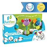 Fun Flex Award Winning Interchangeable Infant Baby Activity Set - 11 Fun and Flexible Combinations