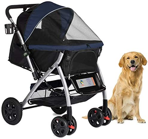 HPZ Convertible Compartment Zipperless Pets Midnight