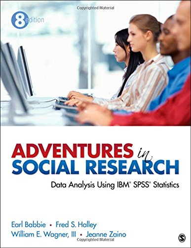 Price comparison product image Adventures in Social Research: Data Analysis Using IBM SPSS Statistics