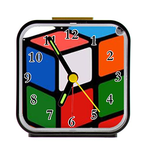 (Rubik's cube Custom Alarm Clock Quartz 9.65