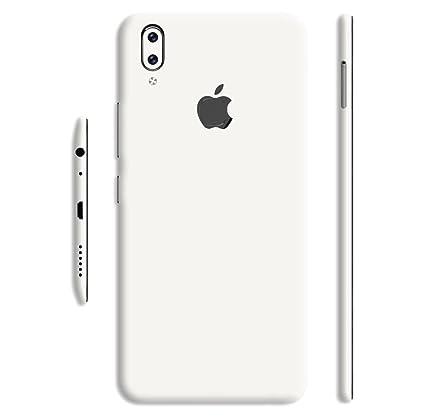 pick up a3b28 94a32 GADGETS WRAP Vivo V9 Converter Apple Logo Jet White: Amazon.in ...