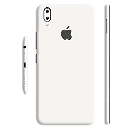 pick up 666bb a5ee9 GADGETS WRAP Vivo V9 Converter Apple Logo Jet White: Amazon.in ...