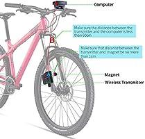 Kongnijiwa LCD YT-813 Velocímetro de Ciclo de la Bicicleta de la ...
