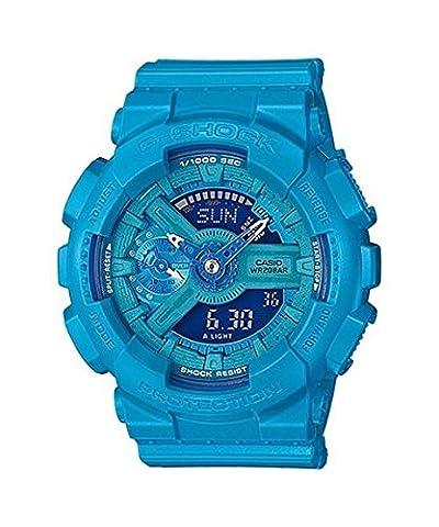 G-Shock GMAS-110VC Bright Vivid Series - Blue / One Size (Blue G Shock Men)