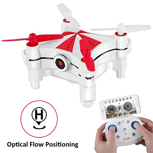 Optical Flow Positioning, Mini RC Drones for Kids & Beginners, Cheerson CX-OF Drone with Camera, Altitude Hold, One Key Take Off & Landing, Hand Movement Follow, Dance Mode ()