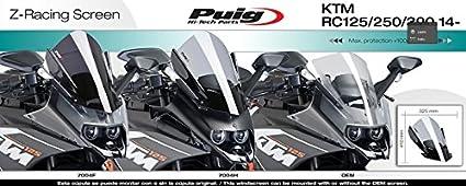 PUIG PUIG 7004N//72 Racingscheibe double bubble FARBE SCHWARZ 7004N//72