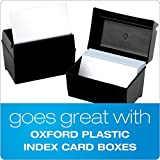"Oxford Ruled Index Cards, 3"" x 5"", White, 1,000"