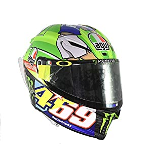 AGV Pista GP R Carbon Valentino Rossi Limited Edition Mugello 2017 469 Kentucky Kid Tribute Motorcycle Helmet – SIZE MEDIUM-SMALL 51fQMl e63L  Home 51fQMl e63L