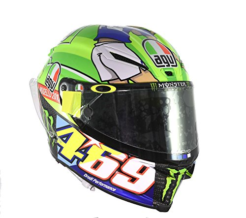 AGV Pista GP R Carbon Valentino Rossi Limited Edition Mugello 2017 469 Kentucky Kid Tribute Motorcycle Helmet – SIZE MEDIUM-SMALL 51fQMl e63L