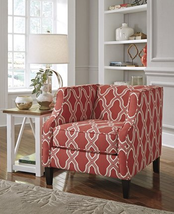 Accent Chair in Coral -  Signature Design by Ashley, 7990422