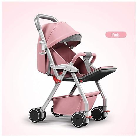 GSDZN - Cochecito De Bebé Carro De Bebe Sistema De Viaje Cochecito Plegable A Prueba De