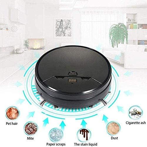 Art Jian Robot de Balayage Intelligent, télécommande de Machine de Nettoyage d\'aspirateur à la Maison pour Les Tapis de Poils d\'animaux de Compagnie