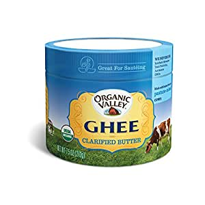 Organic Valley Ghee Clarified Butter, 7.5oz