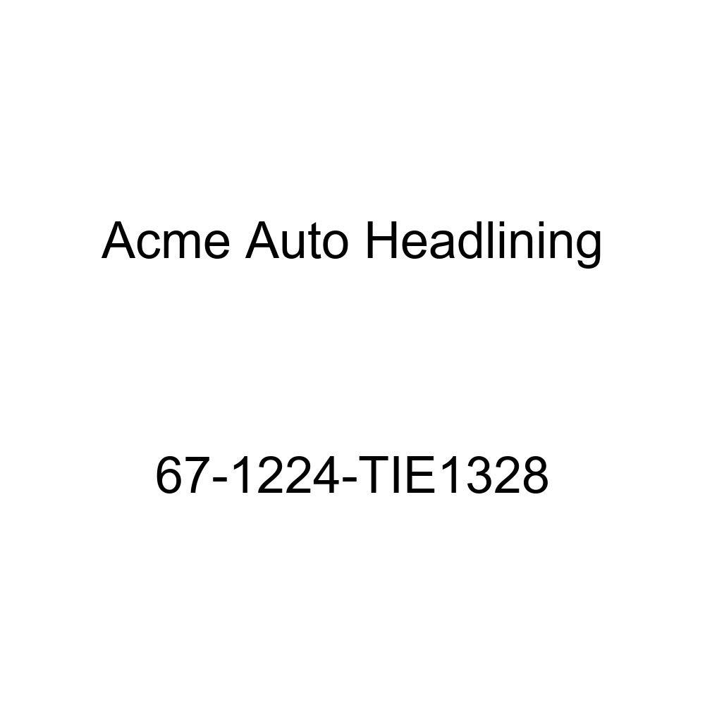 Acme Auto Headlining 67-1224-TIE1328 Red Replacement Headliner Oldsmobile Cutlass 4 Door Hardtop 6 Bow