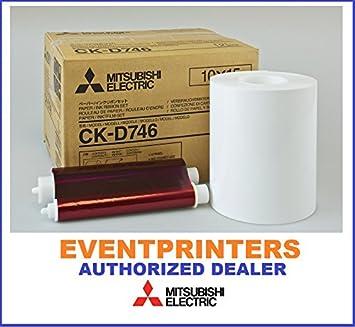 Amazon.com: Mitsubishi CK-D746 - Cinta y papel de 4.0 x 6.0 ...