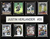 MLB Detroit Tigers Justin Verlander 8-Card Plaque, 12 x 15-Inch