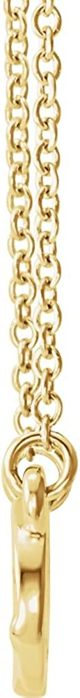 Jewels By Lux 14K Yellow Gold Infinity-Inspired Knot Design 18 Necklace