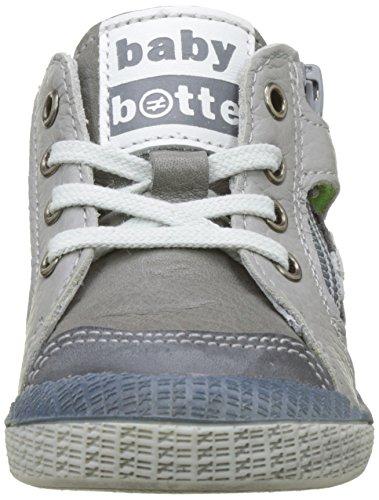 babybotte Jungen Aukey Hohe Sneaker Grau (Grau)