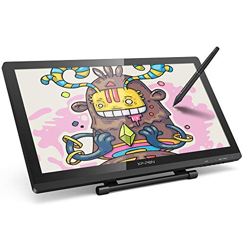 HD IPS Pen Display XP-PEN Artist 22 Pro Monitor Graphics Drawing Tablet with HDMI Cable for Both Left and Right Hand