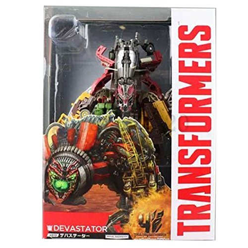 HOT Transformers Devastator Combine Robot Action Figure (Best Transformer Costume Video)