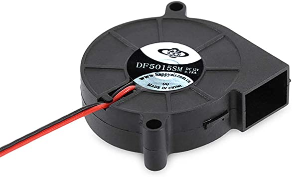 Portable DC 24V 5cm Ultra-Silent Radial Turbo Blower Cooling Fan for 3D Printer Parts for Office School