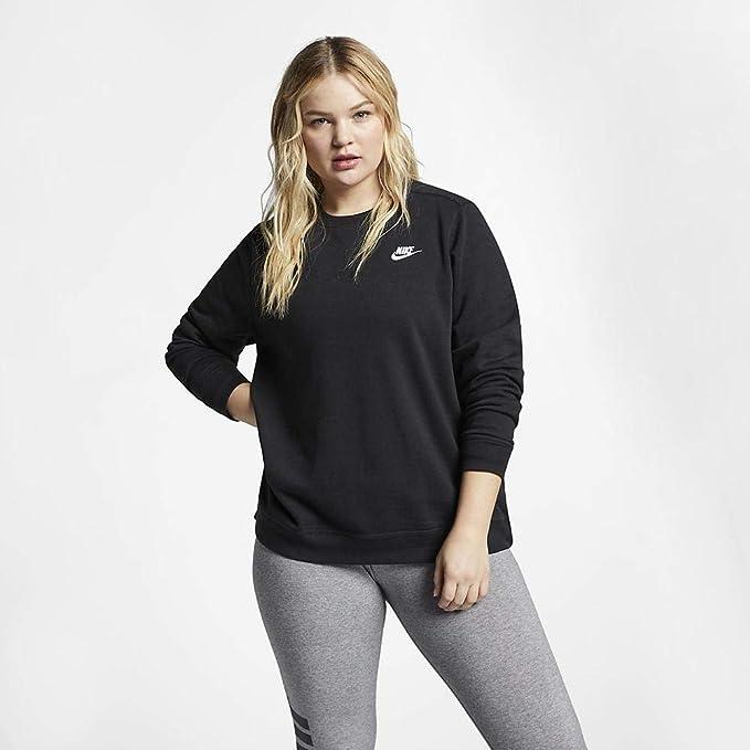Nike Top Pacer Crew SD Plus, Felpa Donna: Amazon.it