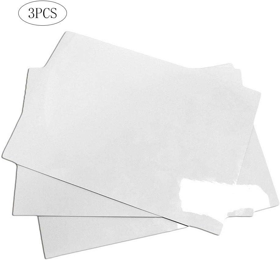 3 piezas magnética Placa blanca Sticker A5 secos Juntas borrables ...