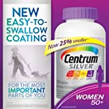Centrum SILVER WOMEN Multivitamin Multimineral Vitamin 50+ Plus 250 Tablets