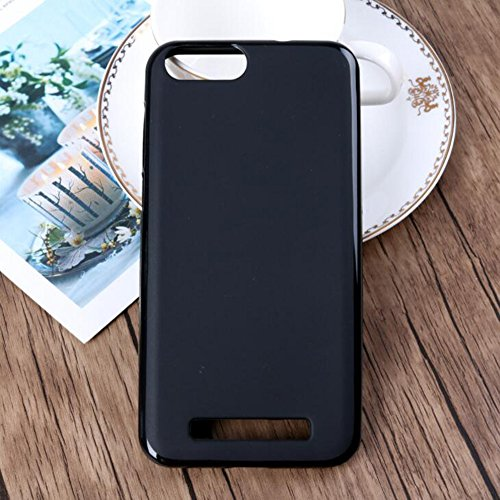 Doogee X30 Case, TopACE Ultra Thin Transparent Soft Gel TPU Silicone Case Cover for Doogee X30 (Black)