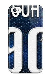 Brandy K. Fountain's Shop Hot 6547435K623622101 detroit lions NFL Sports & Colleges newest iPhone 4/4s cases