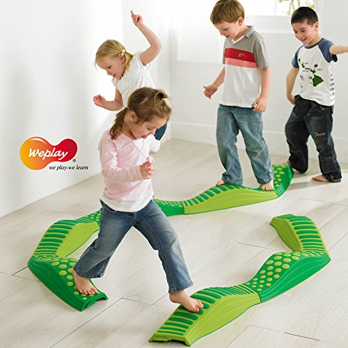 Weplay Wavy Tactile Path, Green by Weplay (Image #7)