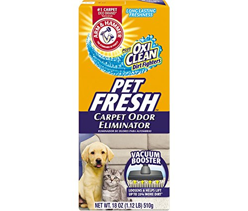 Arm and Hammer Pet Fresh Carpet Odor Eliminator Plus Oxi Clean Dirt Fighters, 16.3 oz, (12 Pack) by Arm & Hammer (Image #2)