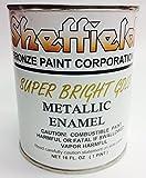 Sheffield 4740 Pt Super Brite Gold Enamel Exterior Metallic by Sheffield Bronze